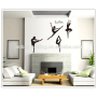 wall stickers woman dancer for girls room wall stickers