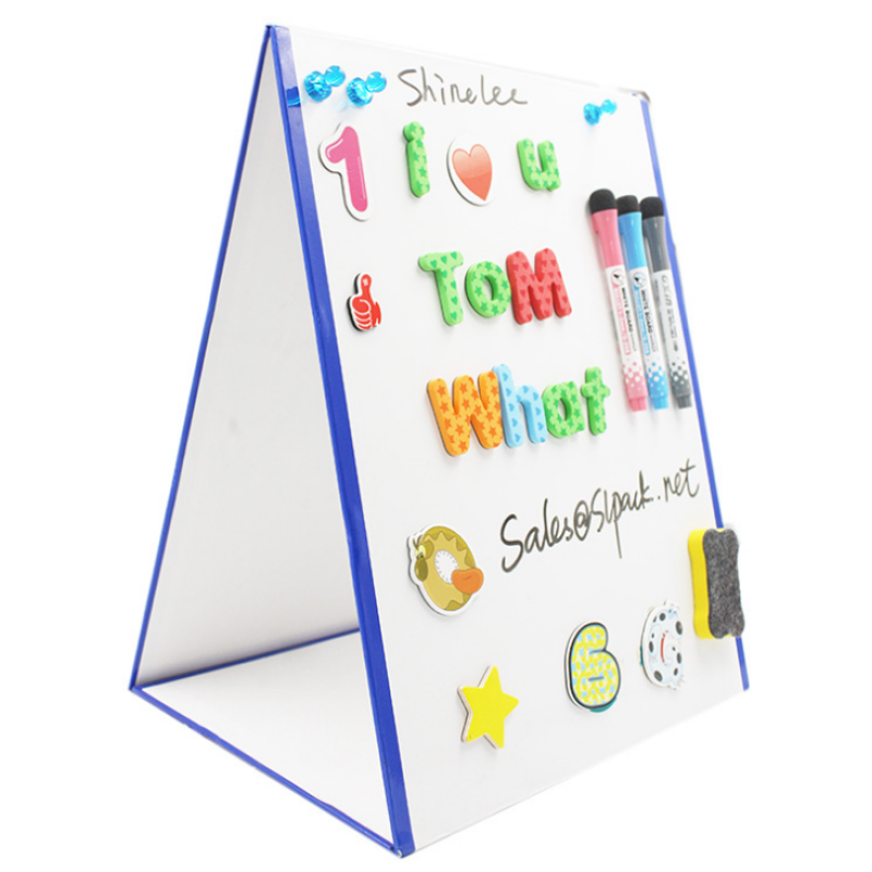 Educational magnetic toy children whiteboard for kids