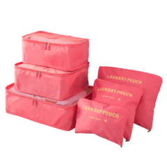 Waterproof clothes luggage organizer Storage pouch Bag