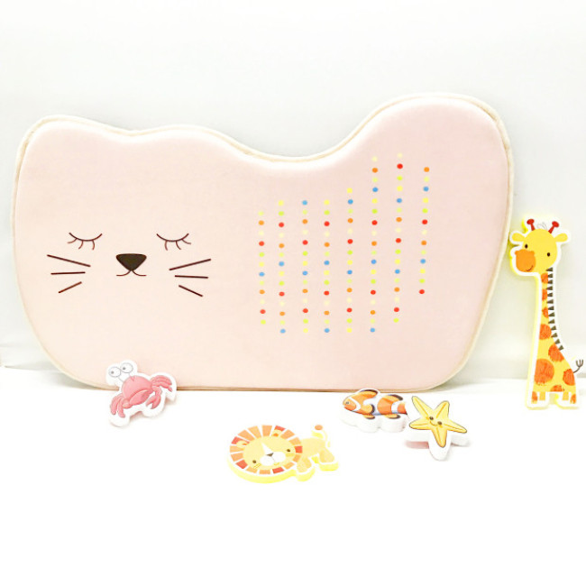 Home cute memory foam baby bath kneeler mat / pad for mommy