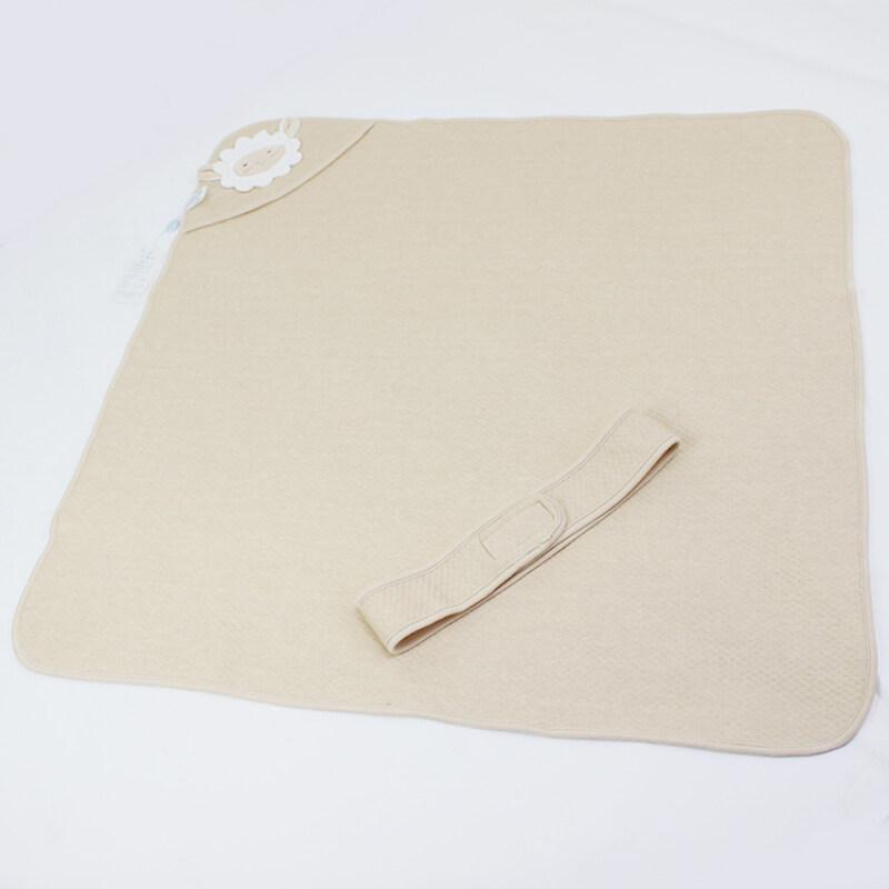 New design cotton muslin baby  wrap milestone swaddle blanket