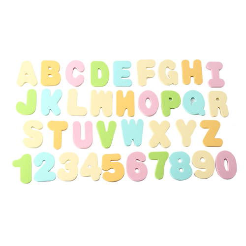 Bath Foam Letters Numbers Toys with Bath Toy Organizer