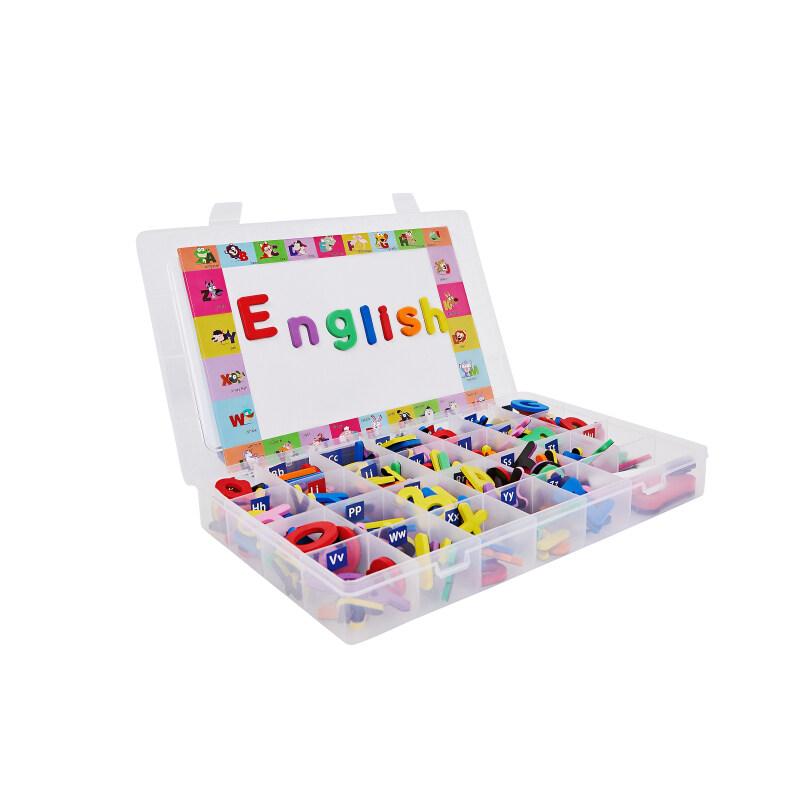 Custom abc plastic magnetic alphabet letters light board set combination
