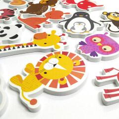 Customized EVA foam educational unique bath toy for kids A313
