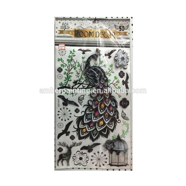 new arrival handmade 3d sticker for home decoration