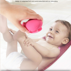 Silicone shampoo cleansing brush for kids