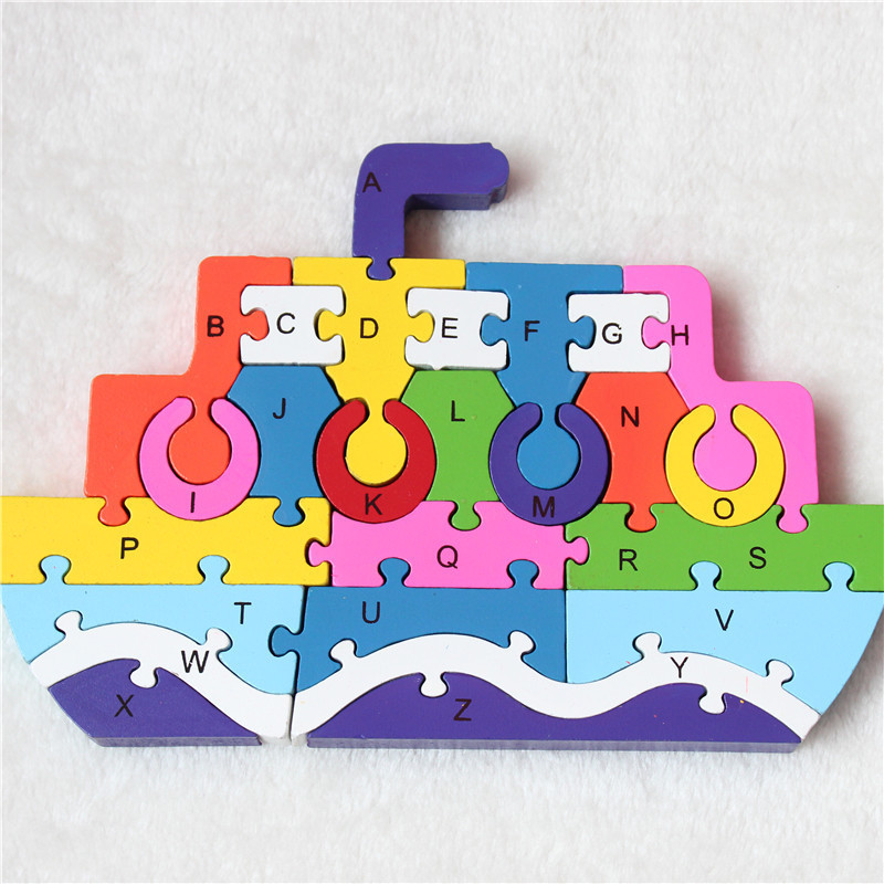 Educational alphabet letter eva foam puzzle toys for kids
