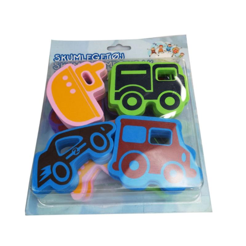 2020 new arrivals bathtub bathroom toys ocean animal set eva foam kids bubble toy