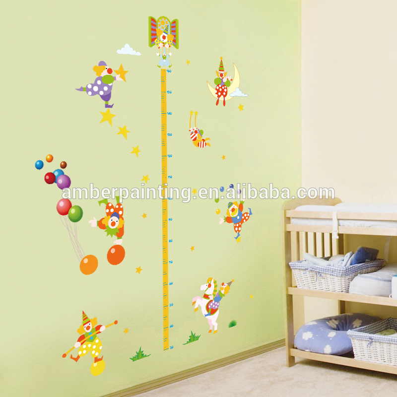 lovely creepy clown wall decals live laugh for baby boy