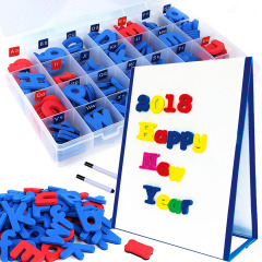 Wholesale children's toy painting whiteboard abc magnetic letters set