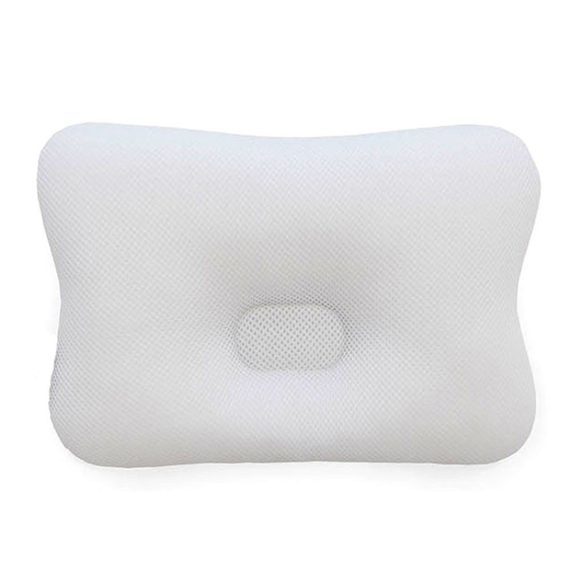 Baby Newborn Head Support Pillow Protects Flattening Infant Head 3D Air Mesh Breathable Baby Head Shaping Pillow
