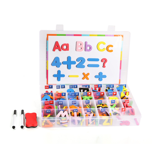Customized wholesale children's high quality eva magnetic alphabet toy set children's educational toys