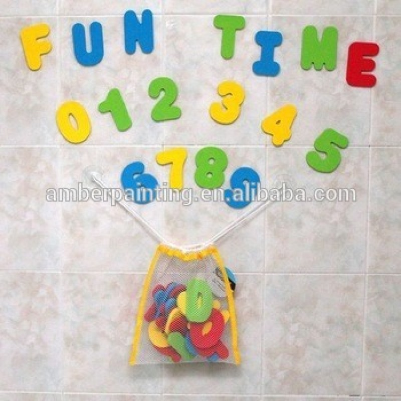 36pcs Letters and Numbers EVA Foam Baby Bathtub Floating Toy