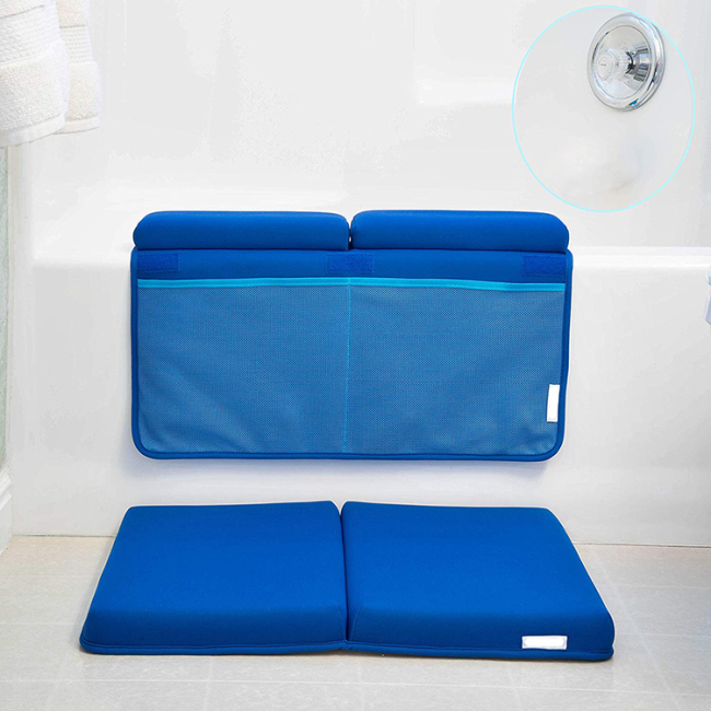 Hot sell foldable anti slip custom size bath tub mat