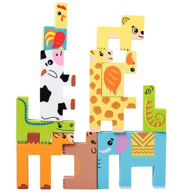 Animals Wooden Puzzle toys for kids