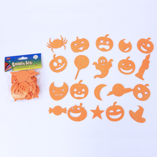 DIY wall decoration design 3d eva foam sticker for kids room stickers halloween