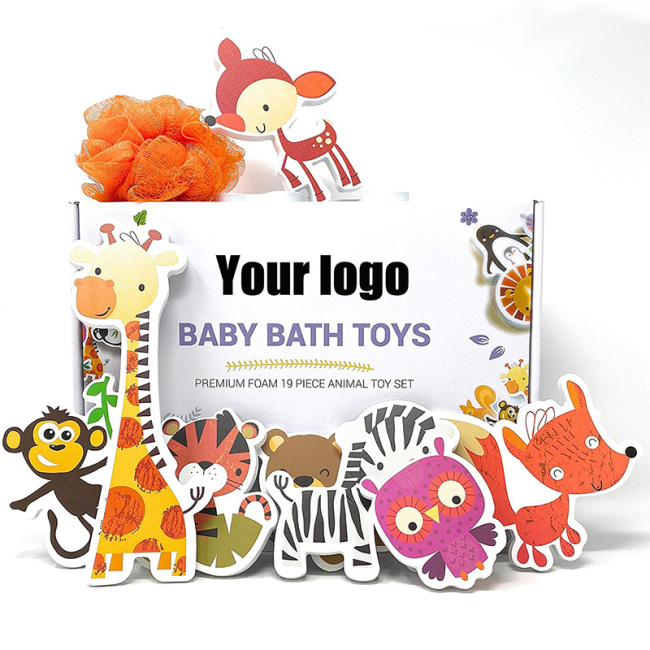 Amazon Hot Sales Baby  Bath Toys Gift Set  Children Bath Toys Gift Bath Toys For Kids