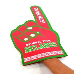 EVA foam cheering hand and finger for sports competition