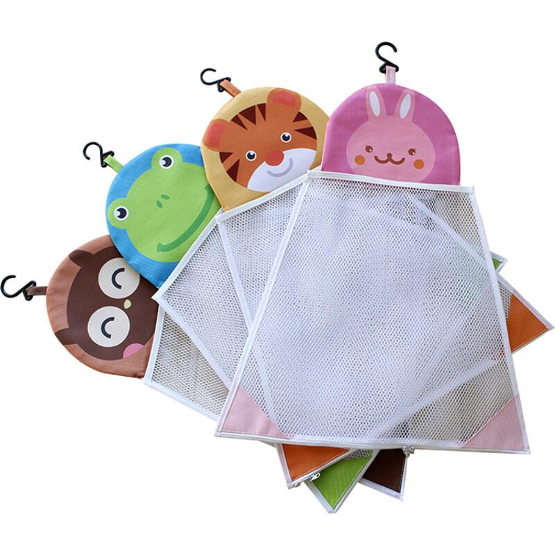 Hot sale lovely design bath toy mesh bag storage organizer
