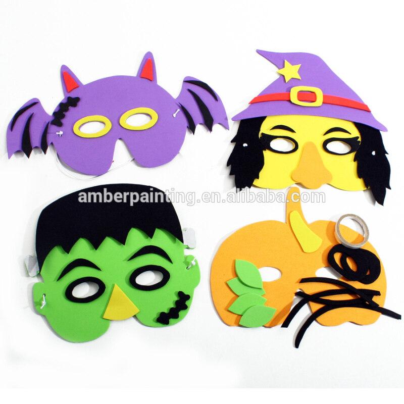 eva horse head beauty face mask christmas kids foam mask