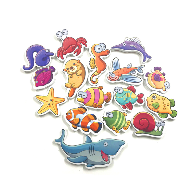 Baby EVA educational bath toy set for kids