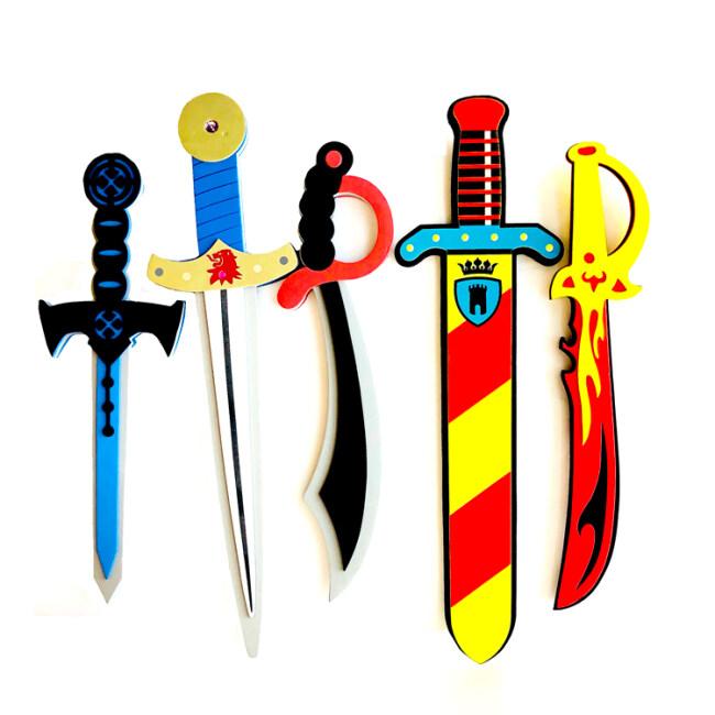 kids cool eva foam knife sword toys