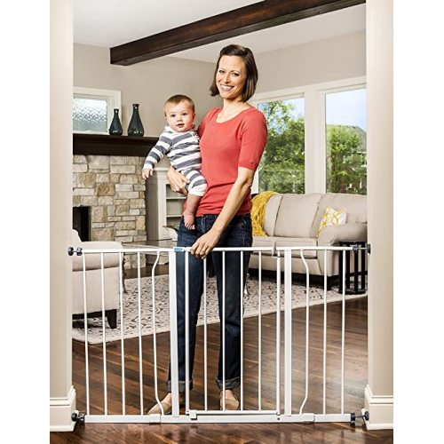 2020 new high pet dog safety gate baby safety gates retractable safety gate for baby