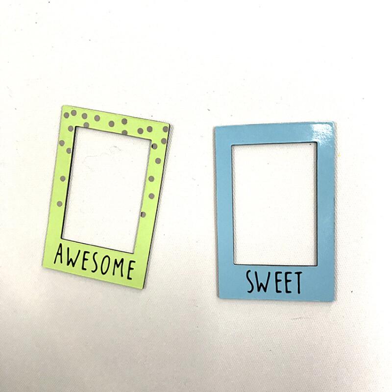 Customized Decorative Magnetic Photo Frames