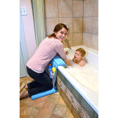 Padded knee and elbow home goods cheap non-slip baby bath mat