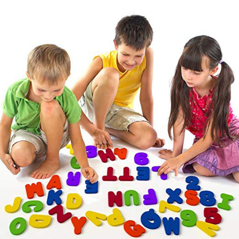 Eva Foam Bath Toy Numbers Letters/ Baby Bath Toys
