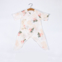 New eco-friendly 100% cotton baby jumpsuit