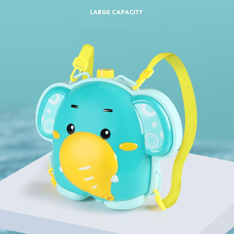 Baby backpack water play bath toy gun bath sprinkler toy   bath toys baby shower water spray