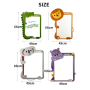 2020 new design animal whiteboard magnet wall sticker for kids,  magnetic  whiteboard for doodling drawing