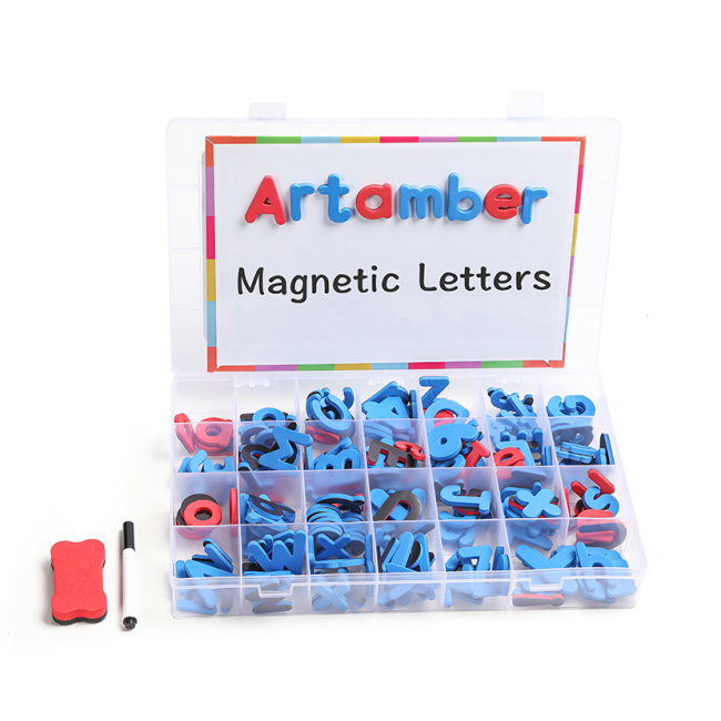 Amazon hot sellingToys for kids new 2019 customized Alphabet magnetic foam letter educational toys