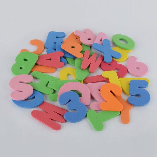 Non toxic custom educational letter EVA foam bath toy for baby