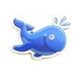 Animal shape educational EVA foam bath toy for children