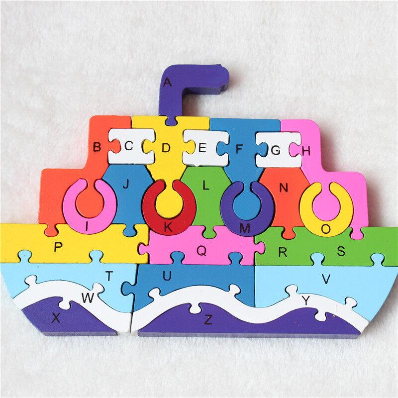 Educational Toys custom alphabet letter foam puzzle game
