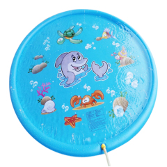 sprinkle and splash inflatable water play mat for toddler