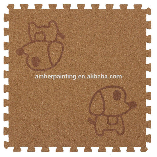 child foam baby play gym cork puzzle mat floor mat for laminate flooring