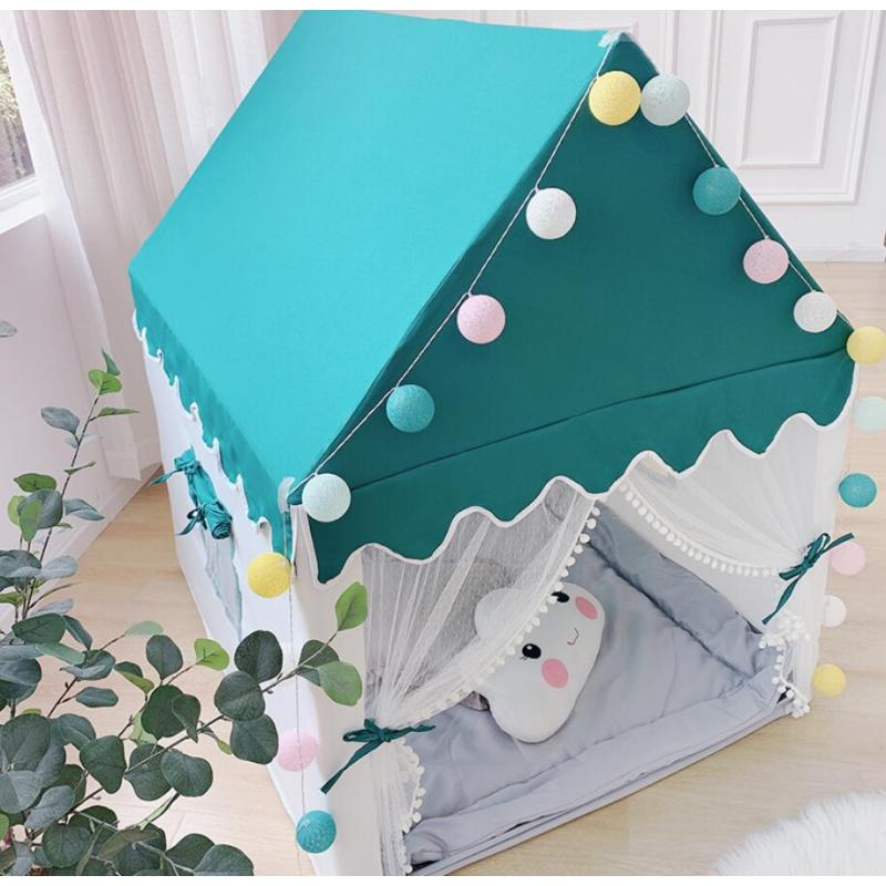Kids Play Tent  Large Playhouse Children Play Castle Fairy Tent for Girls & Boys Birthday Gift