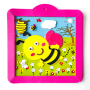 DIY craft lovely bee kids eva foam cartoon stickers photo frame