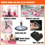Custom high-quality fitness tpe yoga block white   yoga mat for kids