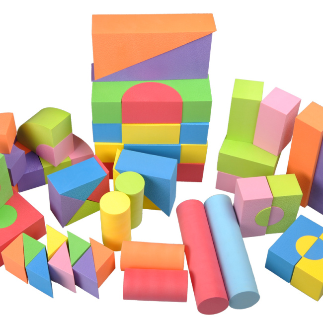 Multifunctional good educational best foam building blocks