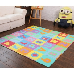 Educational alphabet numbers eva jigsaw puzzle play mat for kids