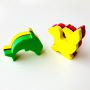 personalized EVA foam refrigerator magnet 3D for kids