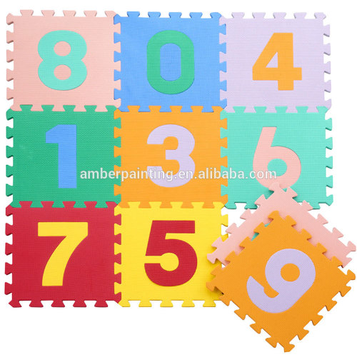 antislip foam thick foam play puzzle mat for baby joint happy mat