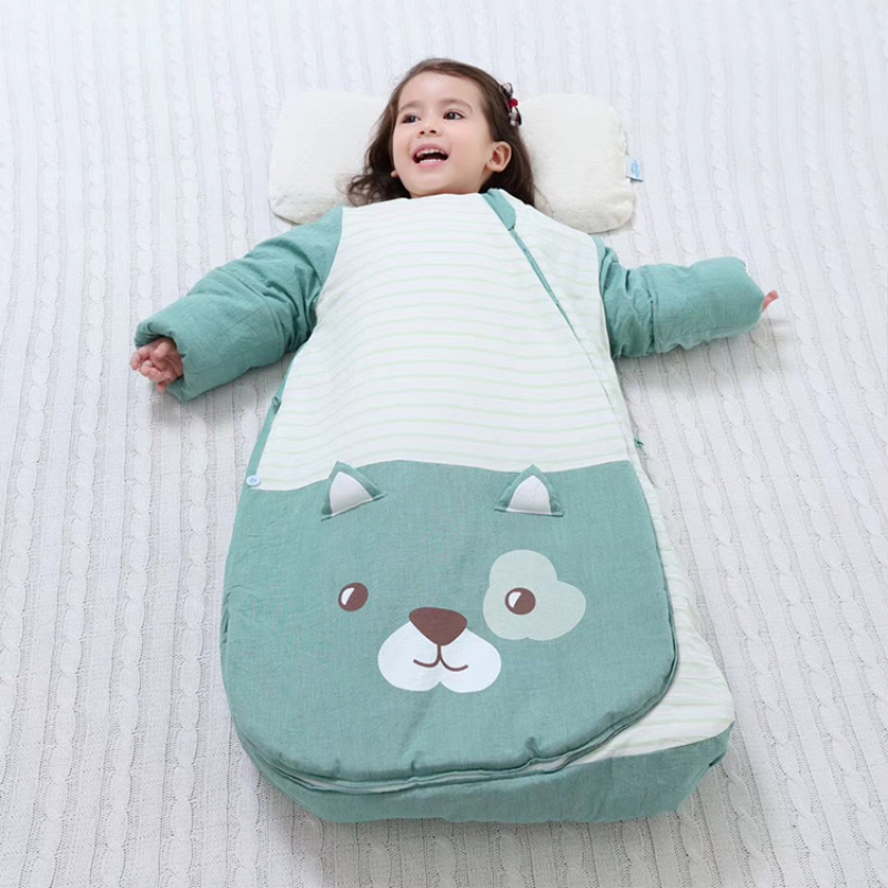 New design factory direct sale natural safety winter baby sleeping bag