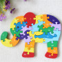Custom educational puzzle game eva foam alphabet puzzle toy