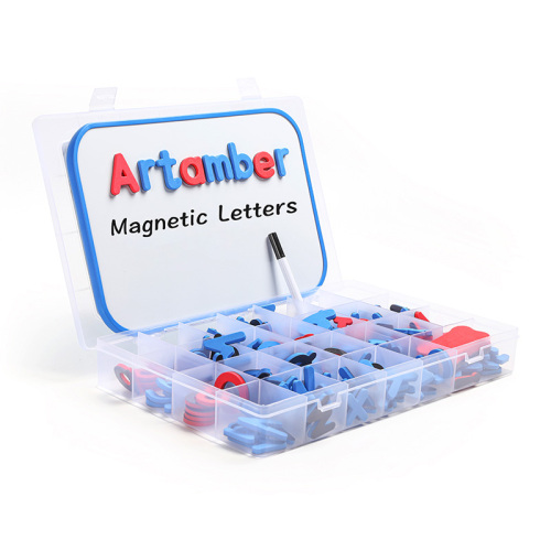 new toys 2020 kids double-sided dry erase board magnetic whiteboard with marker EVA foam letters