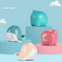 Baby bathing animal bath toys water sprinkler whale bath toy